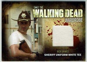 The Walking Dead Season 2 Wardrobe Card M1 Rick Grimes Sheriff Uniform White Tee