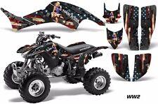 AMR Racing Honda TRX 400 EX Graphic Kit Wrap Quad Decal ATV 1999-2007 WW2 BOMBER