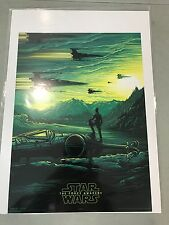 Star Wars  Original AMC IMAX Exclusive Poster 2 of 4 Free shipping