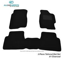NEW CUSTOM CAR FLOOR MATS - 3pc - For Nissan Navara D40 ST-X Dual Cab 03/10-03/1
