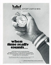 1970s Vintage 1978 Smiths Astral Stop Watch Paper Print Ad