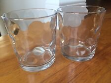 Set of 2 Circleware Crystal Old Fashioned Whiskey Drinking Clear Glass Mixology