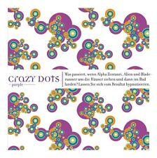 """Top Textil Duschvorhang  """"Crazy Dots""""blue/purple  """"A&L"""""""