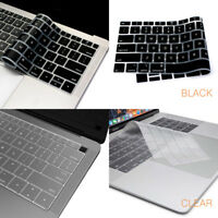 Keyboard Cover for Macbook Pro 13 15 A1989 A1990 Touch Bar 2018 Air 13 A1932