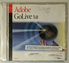Adobe GoLive 5.0 CD with Serial Education Version