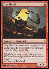 MTG SLAG FIEND FOIL - IMMONDO DELLE SCORIE - NPH - MAGIC