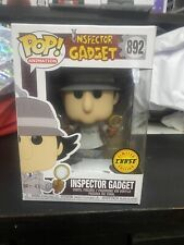 Inspector Gadget Funko Pop Television 892 Rare Chase Badge In hand