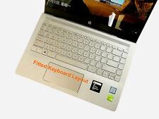 TPU Keyboard Cover Skin for HP Pavilion 14-bp031tx 14-bx003ax, HP 245 G6, 246 G6
