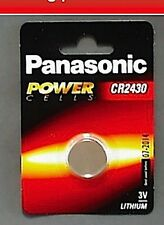 Panasonic Cr2430 3 V Lithium Coin Cell Battery 5031687570475