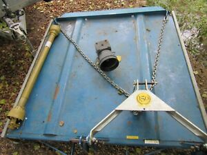 6ft Flemming tractor topper field paddock mower with pto shaft