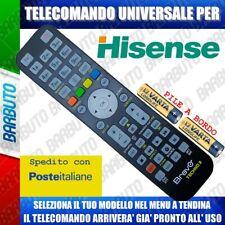TELECOMANDO UNIVERSALE HISENSE, CLICCA SUL TUO MODELLO LO RICEVERAI GIA PRONTO