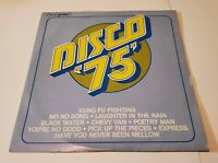 "Disco ' 75 '  TEJ Records 12"" Vinyl Record 2 LP Dimensional Sound VERY RARE"
