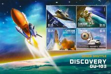 Space Shuttle DISCOVERY OV-103 4v Stamp Sheet #1 (2015 Canouan Gren. St Vincent)