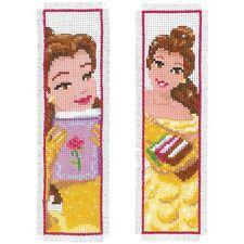 Disney: belleza (juego de 2): puntada cruzada contada Kit: marcadores-PN0169298