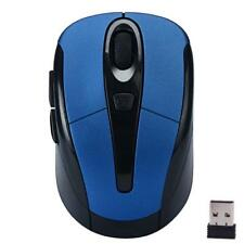 BLUE 2.4GHz Wireless Optical Gaming Mouse Mice PC LAPTOP WINDOWS 10 8 7