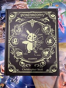 Pokenatomy Unofficial Pokemon Anatomy Guide Hardcover Book Chris Stoll RARE