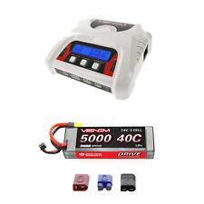 Venom 40C 5000mAh 7.4 Sport Power LiPo Battery w/ 2-4 Cell Balance Charger Combo