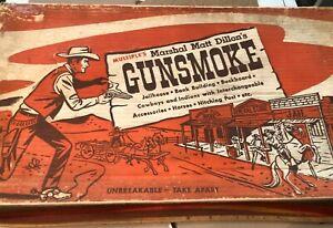 MPC GUNSMOKE PLAYSET