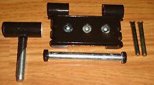 Simonswerk BAKA 3D 20 adjustable over rebate hinge - brown