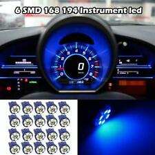 20x Bright Blue Color Guage Cluster Instrument Speedometer Dash Led Light Bulbs (Fits: Neon)