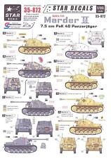 Star Decals 1/35 German Sd.Kfz. 131 MARDER II 7.5cm PaK 40 PANZERJAGER