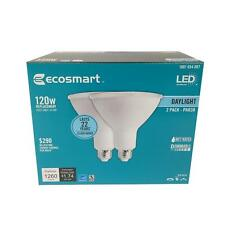 4pack EcoSmart 120W Equivalent Day Light PAR38 Dimmable LED Flood Light Bulb