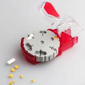 Portable Pill Cutter Box Convenient Drug Box Tablet Cutter Splitter Medicine