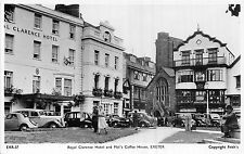 POSTCARD   DEVON    EXETER   Royal  Clarence  Hotel  &  Mol's  Coffee  House  RP