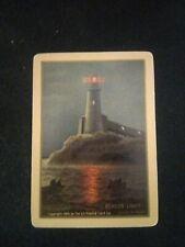Lighthouse Card Single/Swap/Playing/Vinta ge