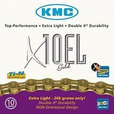 KMC X10 El Oro Extra Light Cadena de bicicleta 10 velocidades, Ajustado PRUEBA,