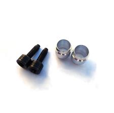 Hydraulic Brake Hose Olive & Threaded Barb Insert for SRAM Avid x2