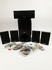 SONY 5.1 HOME CINEMA SPEAKERS SS-WS101, SS-CT91, SS-TS92 WITH CABLE