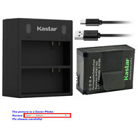 Kastar Battery Dual Charger for GoPro AHDBT-302 GoPro AHDBT-301 GoPro AHDBT-201