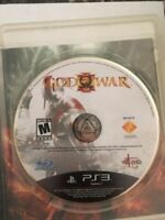 God of War III PS3 (Sony PlayStation 3, 2010) Disk Only Tested