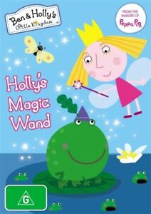 Ben And Holly's Little Kingdom Holly's Magic Wand DVD 2015  brand new sealed