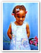 Jamila's Surprise Carl Owens African American Art Print 20x26