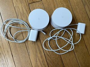 Google WiFi AC1200 Dual-band Mesh Wi-fi Router 2 Pack  - White