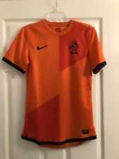 Nike Holland Netherlands 2012 Euro Home Player Issue Jersey Small World Cup