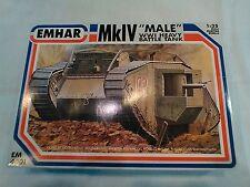 "1/35 EMHAR WW1 MkIV ""MALE TANK #2"