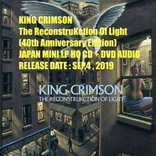KING CRIMSON The ReconstruKction Of Light 40th JAPAN MINI LP HQ CD + DVD AUDIO