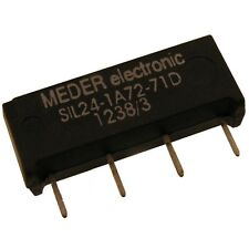 Meder sil24-1a72-71d Relais 24v 1xein 2000 Ohm Sil Reed Relay con diodo 047180