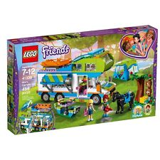 LEGO FRIENDS / MIA'S CAMPER VAN RAFT HORSE STEPHANIE 488 PIECES / 41399 SEALED!