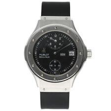 Hublot 1860.135.1 Classic 40mm Regulator Rubber Automatic Wrist Watch