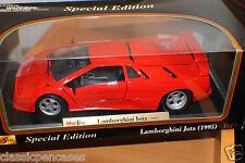 Special Edition Lamborghini Jota 1995 Red 1:18-Die-Cast