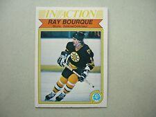 1982/83 O-PEE-CHEE NHL HOCKEY CARD #24 RAY BOURQUE IA NM SHARP!! 82/83 OPC