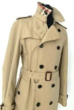 BNWOT BURBERRY MENS SLIM FIT TRENCH COAT 56 Uk 46 HONEY SHADE -ONE ONLY