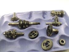 Bultaco Alpina 350 Model 187 #6048 Transmission & Misc Gears / Shift Drum & Fork