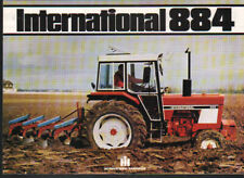 "International ""884"" Tractor Brochure Leaflet"