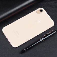 For Apple iPhone XR Slim Soft Silicone Rubber Premium Matte TPU Thin Case Cover