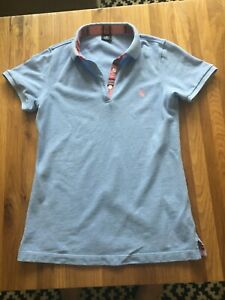 Joules Womens Light Blue Polo Shirt Top by Koy Clothing- Size 10. Worn once only